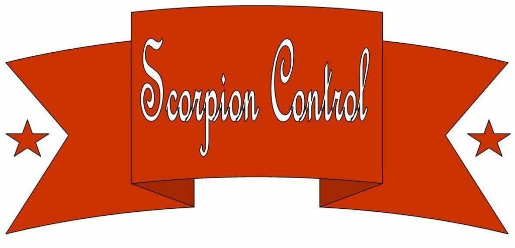 scorpion control banner