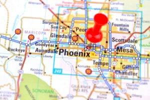 Scorpion Map - Phoenix Valley 2018 - 2019 — Responsible Pest Control on